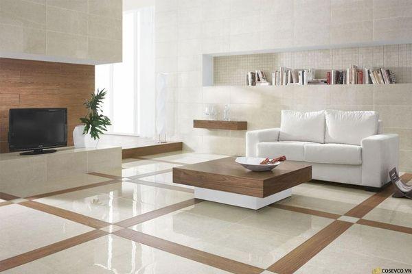 Mẫu gạch lát nền phòng khách đẹp - Hình ảnh 6