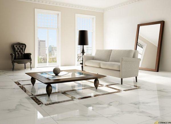 Mẫu gạch lát nền phòng khách đẹp - Hình ảnh 7