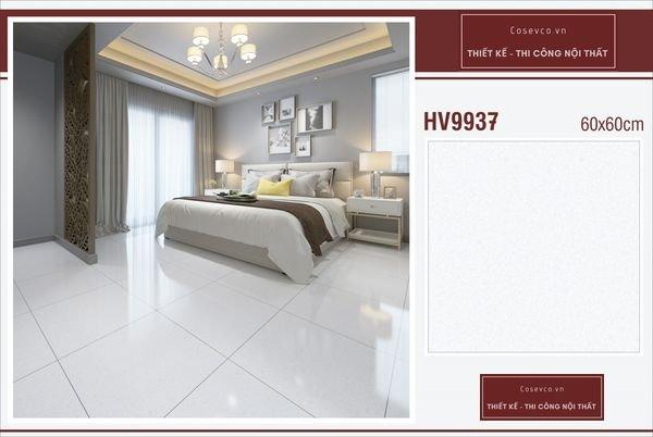 Mẫu gạch lát nền phòng ngủ kích thước 60x60 - Mã HV9937