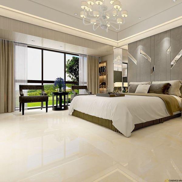 Mẫu gạch lát nền đẹp cho phòng ngủ - Hình ảnh 13