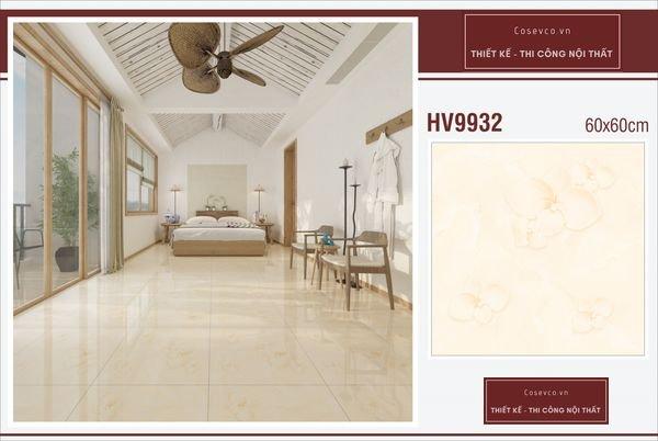 Mẫu gạch lát nền phòng ngủ kích thước 60x60 - Mã HV9932
