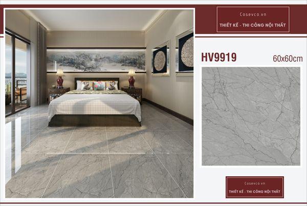Mẫu gạch lát nền phòng ngủ kích thước 60x60 - Mã HV9919