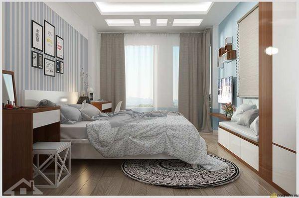 Mẫu gạch lát nền đẹp cho phòng ngủ - Hình ảnh 9