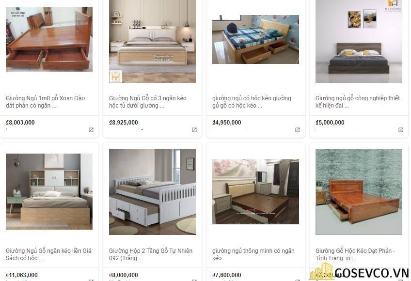 Báo giá giường hộp có ngăn kéo thông minh
