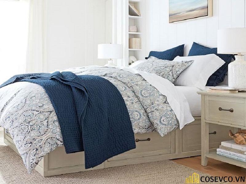 Mẫu giường hộp có ngăn kéo thông minh - Mẫu 7