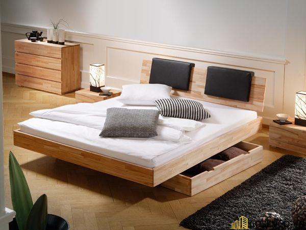 Mẫu giường hộp có ngăn kéo thông minh - Mẫu 6