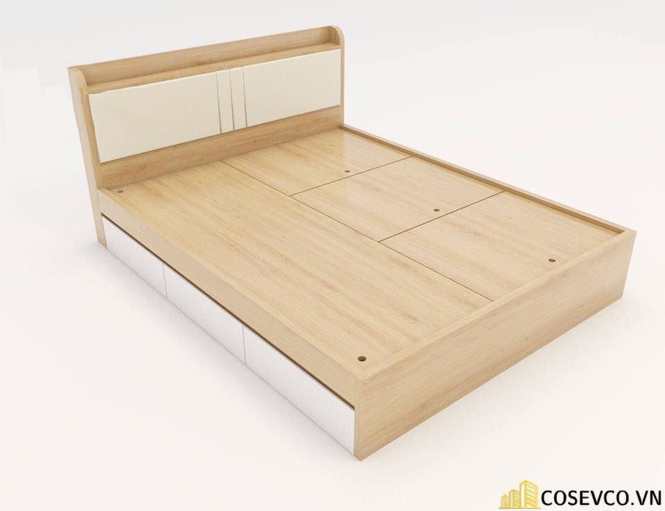 Cấu tạo giường ngủ có ngăn kéo thông minh - View 2