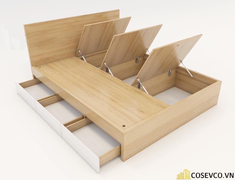 Cấu tạo giường ngủ có ngăn kéo thông minh - View 1