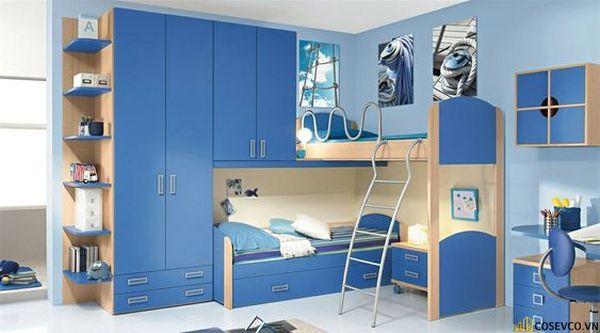 Giường tầng kết hợp tủ quần áo cho người lớn - Hình ảnh 6