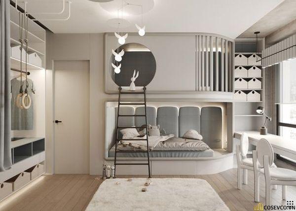 Giường tầng kết hợp tủ quần áo cho người lớn - Hình ảnh 9
