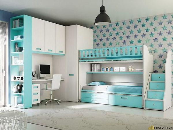 Giường tầng kết hợp tủ quần áo cho người lớn - Hình ảnh 10