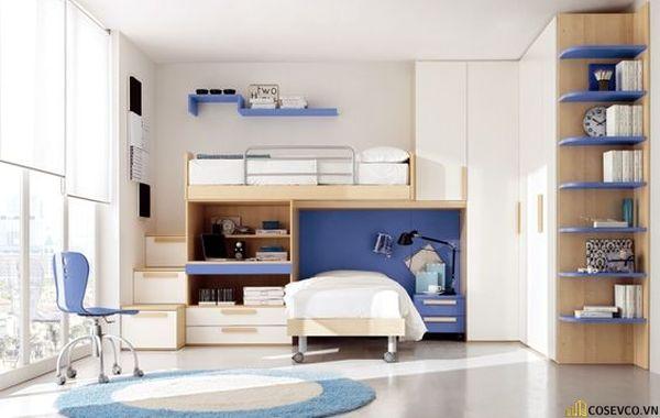 Giường tầng kết hợp tủ quần áo cho người lớn - Hình ảnh 11