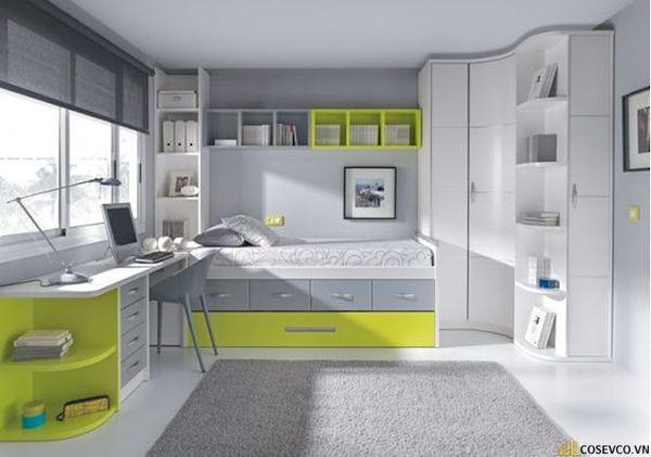 Giường tầng kết hợp tủ quần áo cho người lớn - Hình ảnh 14