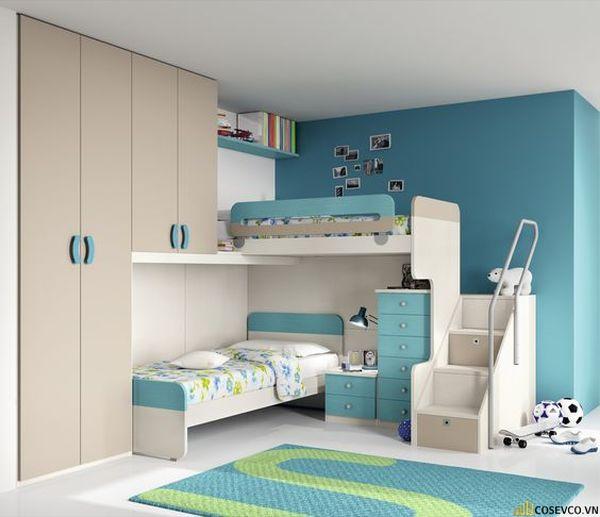 Giường tầng kết hợp tủ quần áo cho người lớn - Hình ảnh 15