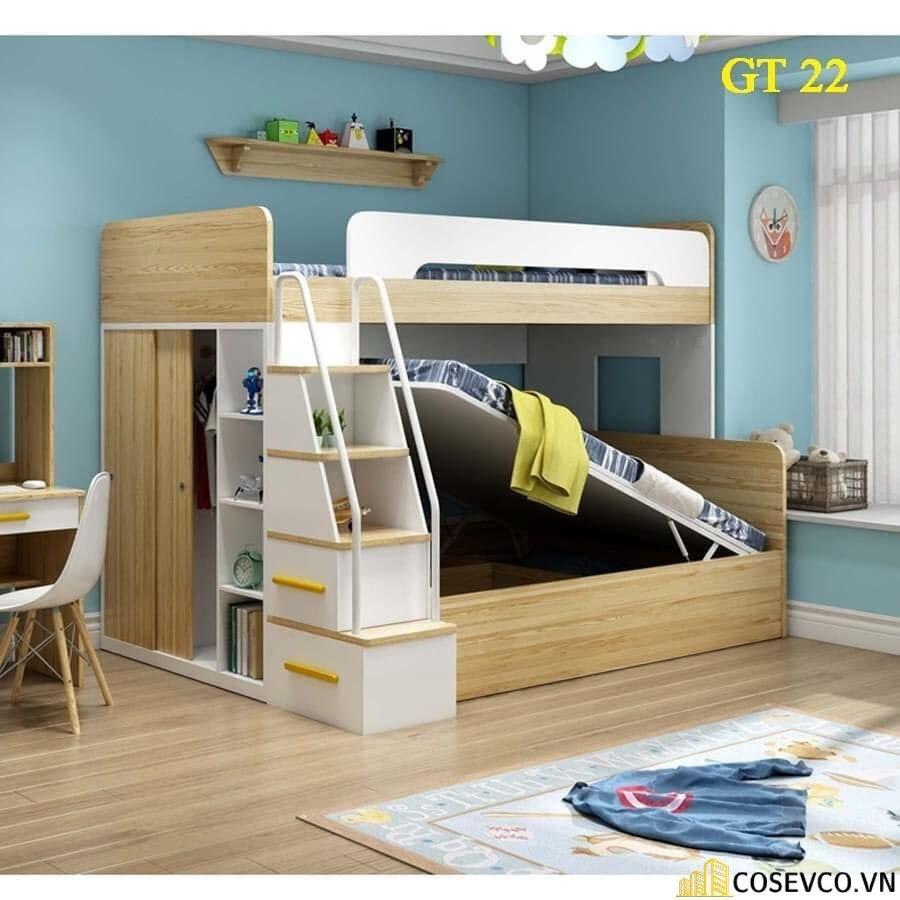 Mẫu giường tầng thông minh là lựa chọn hàng đầu hiện nay