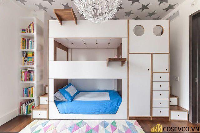 Mẫu giường tầng dành cho người lớn - Mẫu 4