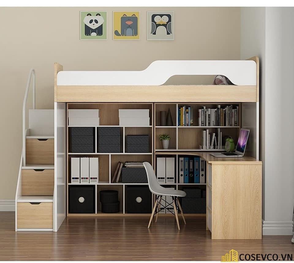 Mẫu giường tầng dành cho người lớn - Mẫu 1