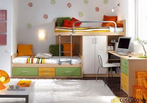 Mẫu giường tầng dành cho người lớn - Mẫu 3