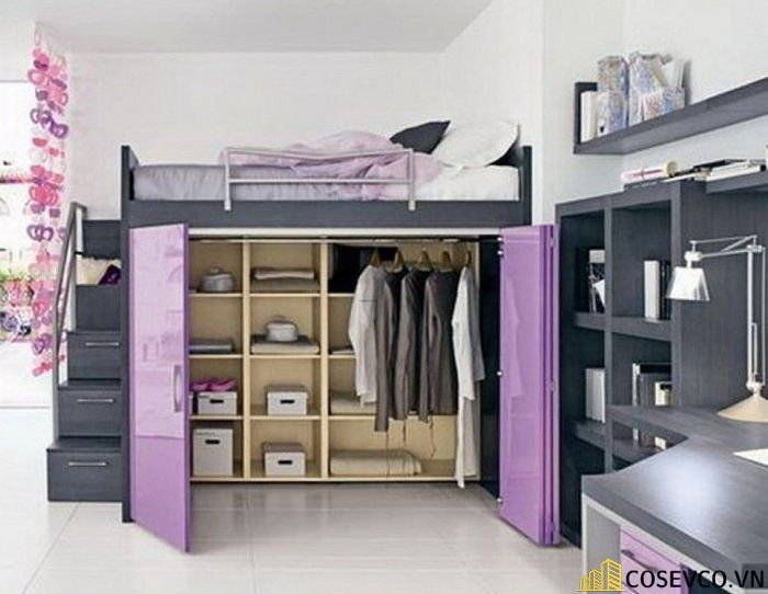 Mẫu giường tầng dành cho người lớn - Mẫu 2