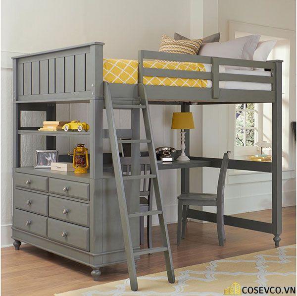Mẫu giường tầng dành cho người lớn - Mẫu 5