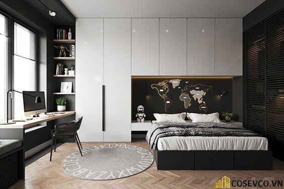 Giường tủ thông minh gỗ công nghiệp vẫn là lựa chọn cho không gian hiện đại