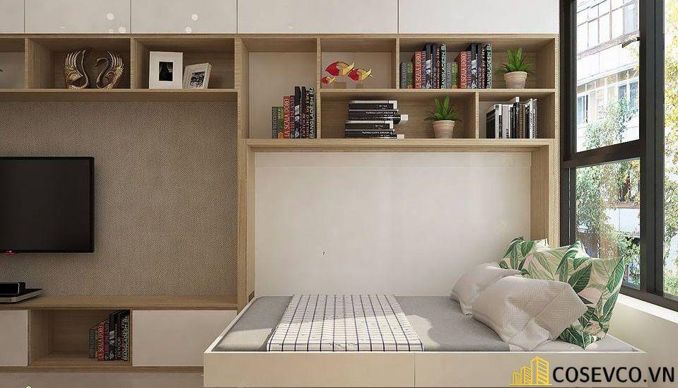 Mẫu giường ngủ thông minh tiện ích nhất hiện nay - Mẫu 7