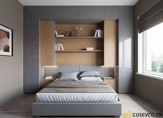Bộ sản phẩm Giường gấp thông minh này được làm từ Melamine cốt MDF cao cấp nên có màu sắc trang nhã