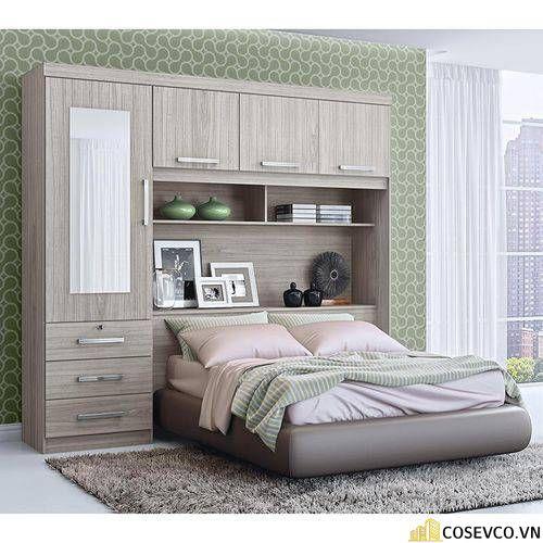 Giường gấp thông minh kết hợp tủ sách chính là giải pháp tối ưu nhất cho căn hộ nhỏ. Không những tiết kiệm không gian sống mà còn có giá trị thẩm mỹ và độc đáo cao