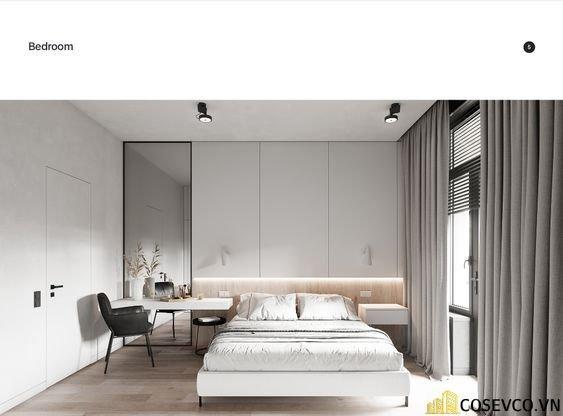 Mẫu giường thông minh kết hợp tủ với chất liệu gỗ công nghiệp đẹp