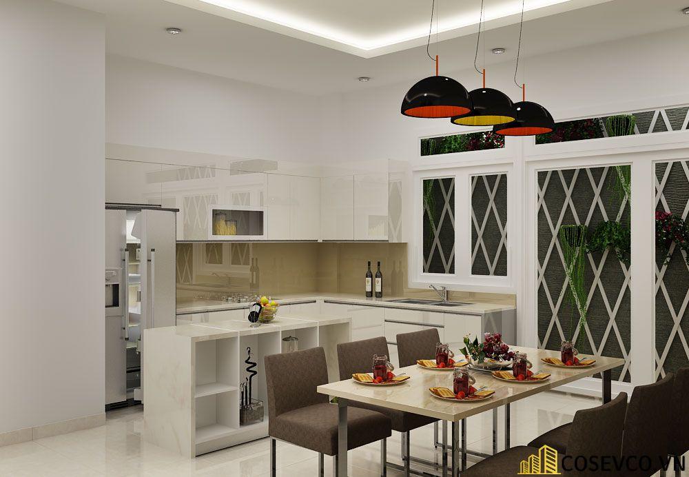 Ý tưởng trang trí bếp nhà cấp 4 đẹp - Mẫu 7