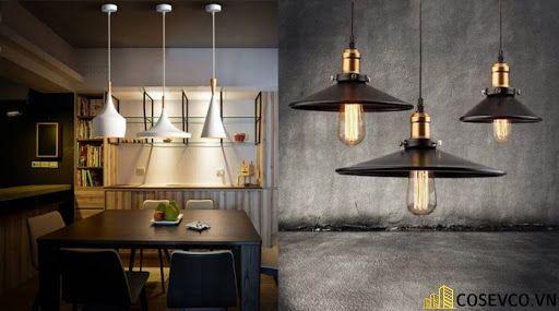 Đèn trang trí nhà bếp