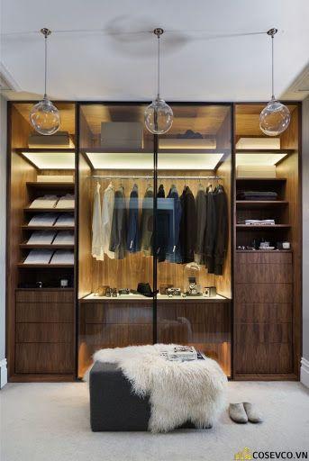 Tủ quần áo gỗ công nghiệp đẹp - Mẫu 4