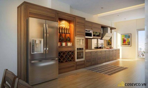 Mẫu tủ rượu phòng bếp đẹp – Hình ảnh 5