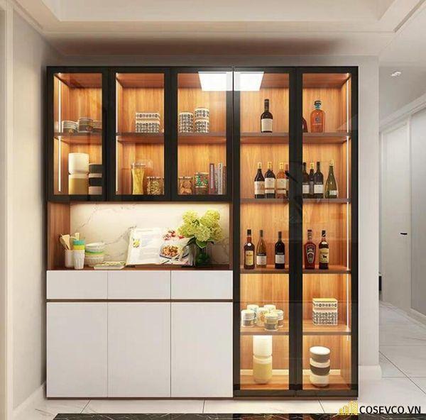 Mẫu tủ rượu phòng bếp đẹp – Hình ảnh 7