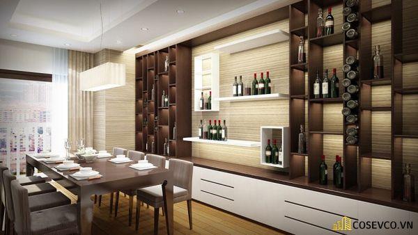 Mẫu tủ rượu phòng bếp đẹp – Hình ảnh 4