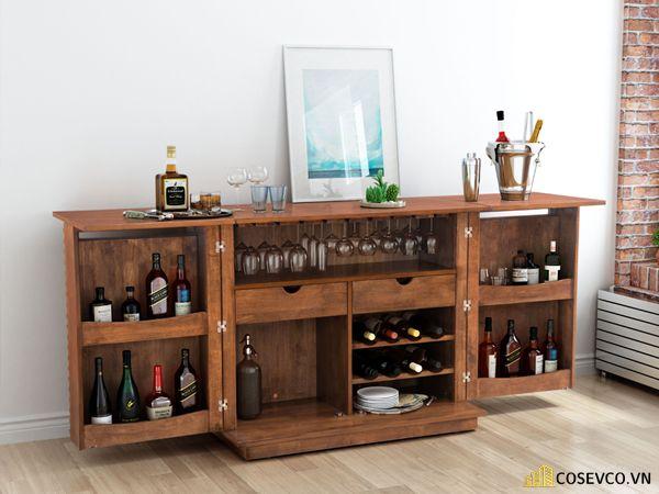 Chọn chủ đề trang trí tủ cần phù hợp với không gian chung