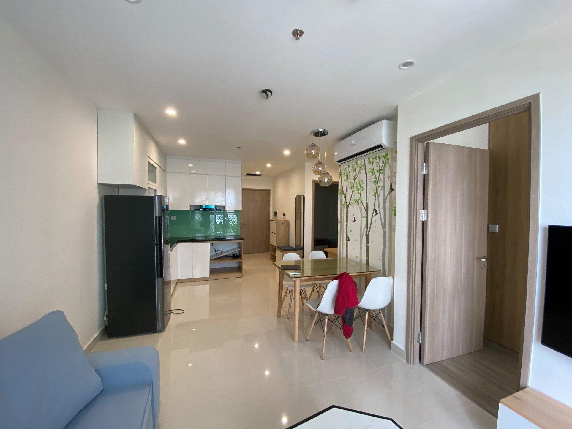 Thiết kế nội thất chung cư Vinhomes Ocean Park - Căn hộ 2 phòng ngủ