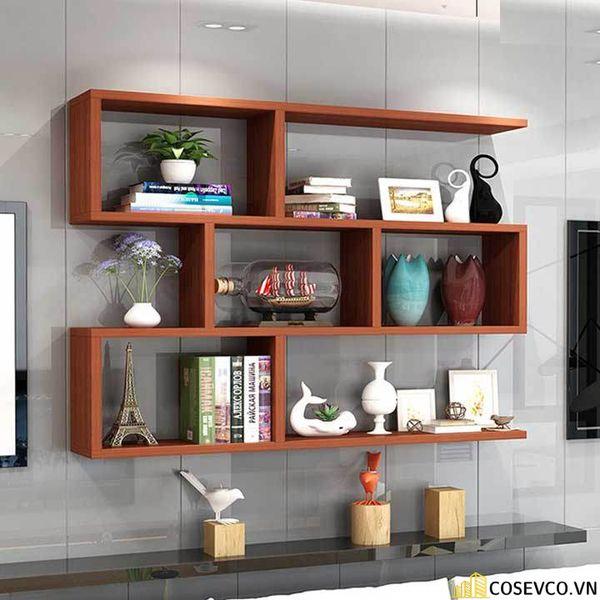 Giá sách đẹp treo tường - Mẫu 2