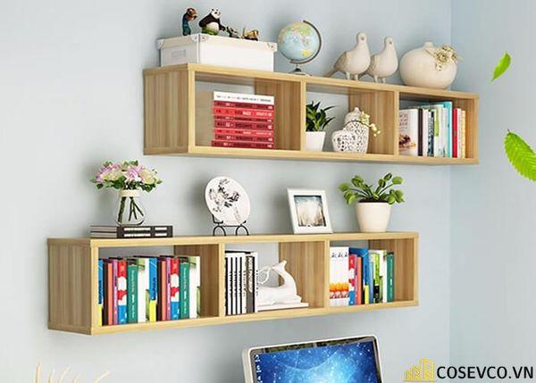 Giá sách đẹp treo tường - Mẫu 1