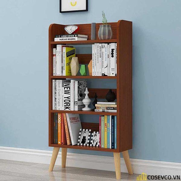 Giá sách đẹp bằng gỗ - Mẫu 2