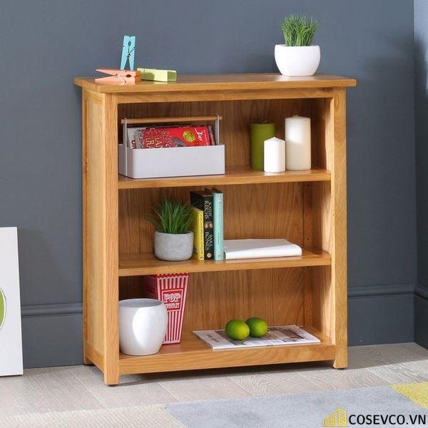 Giá sách đẹp bằng gỗ - Mẫu 4