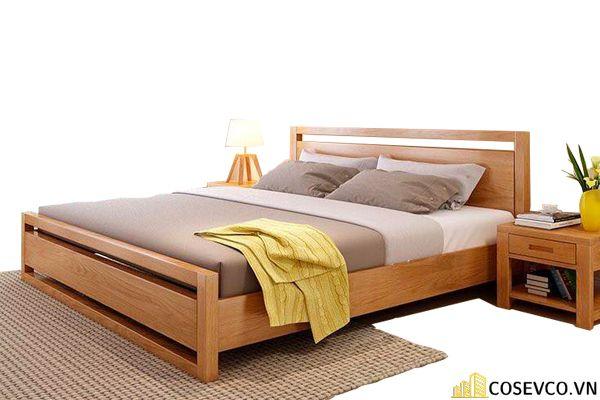 Kích thước là yếu tố bạn cần quan tâm khi lựa chọn giường ngủ bằng gỗ sồi phù hợp cho phòng ngủ của gia đình - M1