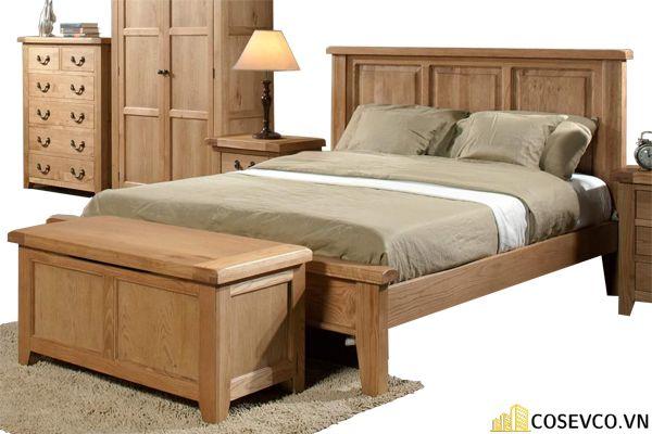 Kích thước là yếu tố bạn cần quan tâm khi lựa chọn giường ngủ bằng gỗ sồi phù hợp cho phòng ngủ của gia đình - M2