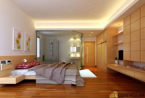 Kích thước là yếu tố bạn cần quan tâm khi lựa chọn giường ngủ bằng gỗ sồi phù hợp cho phòng ngủ của gia đình - M3