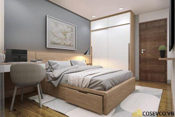 Kích thước là yếu tố bạn cần quan tâm khi lựa chọn giường ngủ bằng gỗ sồi phù hợp cho phòng ngủ của gia đình - M6
