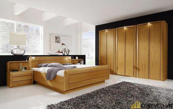 Kích thước là yếu tố bạn cần quan tâm khi lựa chọn giường ngủ bằng gỗ sồi phù hợp cho phòng ngủ của gia đình - M7