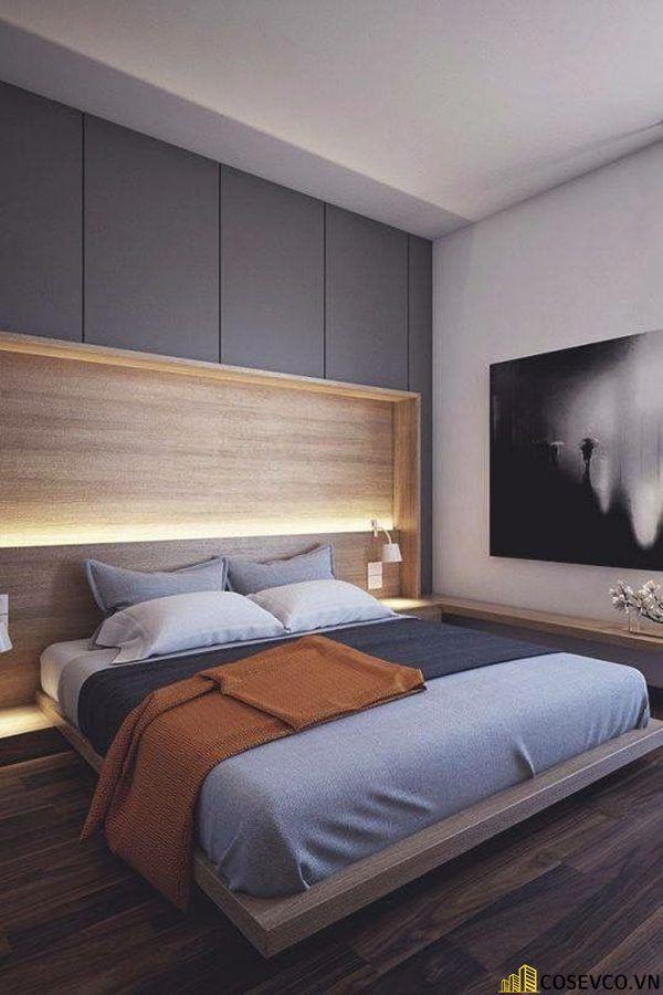 Mẫu giường gỗ sồi nga đẹp ấn tượng nhất hiện nay - Mẫu 1