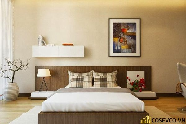 Mẫu giường gỗ sồi nga đẹp ấn tượng nhất hiện nay - Mẫu 7