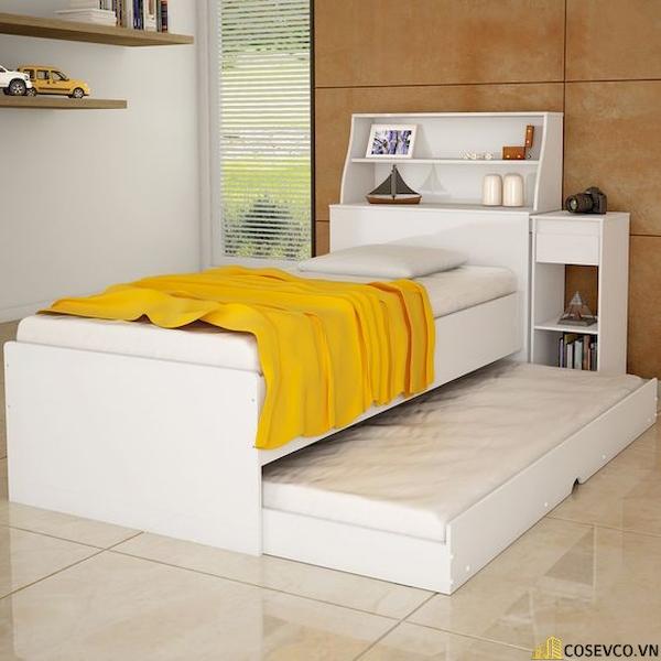 Giường ngủ có ngăn kéo để đệm - Hình ảnh 1