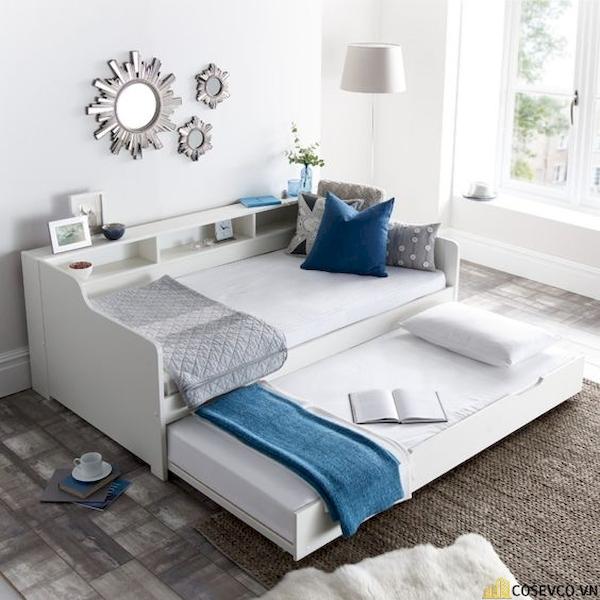 Giường ngủ có ngăn kéo để đệm - Hình ảnh 5
